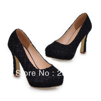 romantic season red lacing waterproof high-heeled shoes wedding shoes preferred foreign trade shoes
