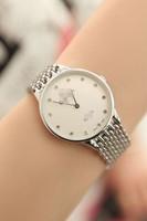 2014 famous brand watch fashion women watch high quality female wrist watch black white golden watch