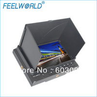 1080p 7 inch LCD  monitor with HDMI Video  YPbPr Audio for camera use  , FW7DII/O