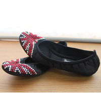 Free Shipping Plus size dance shoes flat-bottomed single shoes women's shoes 236