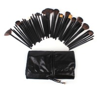 Black 43pcs Cosmetic Brushes Makeup Brush Set Professional Make Up Tools Big Promotion BE052