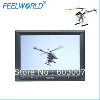 FEELWORLD 8 inch FPV LCD  monitor for Aerial Field Monitor ,RCA  Audio and Video Input