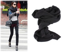FREE SHIPPING/GREATQUILITY/SOLID SIMPLE ELEGANT DESIGN /KNITTED WINTER SCARF FOR WOMEN 2013//FISHION STYLES/ BEST SALERS