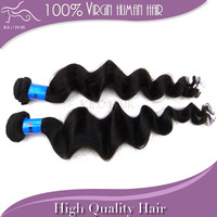 100% unprocessed indian loose wave virgin hair mix length 2pcs lot grade 5a human hair weave wavy dhl fast free shipping