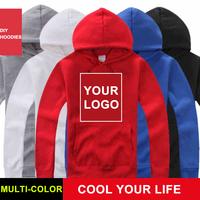 Free shipping DIY hoodies sweatshirts for man woman sweatshirts Custom multi-color high quality