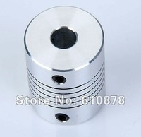 Free Ship,Aluminium CNC Stepper Motor Flexible Shaft Coupler,outer:3mm 4mm 5mm 6mm 6.35mm 7mm 8mm 9mm 10mm 26pcs/set