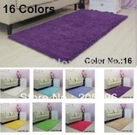Living room carpet 16 colors size 60X140CM Power Threads Microfiber Chenille  reading room carpet dining room carpet