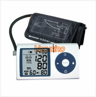 Free Shipping Portable Home Digital UP Arm type Blood Pressure Monitor, Heart Beat Meter, with LCD Display RTAA200