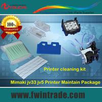 Mimaki jv33 Printer Cleaning kit tool ink pump + wiper + damper + data cable + cap top + cleaning swab