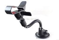 New-rotating360- Gooseneck Holder Car Mount Bracket Holder for Iphone Cellphone GPS