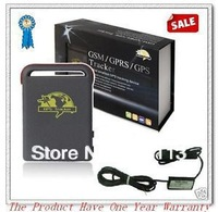 Quad band GPS Tracker TK102B with Hard Wire car charger and retail package