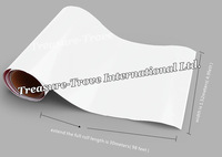 High Quality 1.52*30m White Glossy Vinyl Car Sticker Wrapping Film Decals with Air Drain