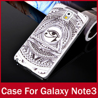 10pcs/lot Wholesales Luxury Painting Cheap Covers For Samsung Galaxy Note 3 N9000 Matte Finishing Back Case