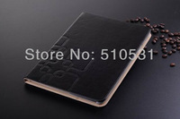 Hot crazy horse PU Leather Smart Cover Book Case for iPad Air iPad5, with stand,sleep/wake up,retail and wholesale,10pcs/lot