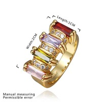 New Arrival 18K Gold Plated Ring,Fashion Jewelry Ring,18K Rhinestone Austrian Crystal Ring Men Women Wedding Rings SMTPR446