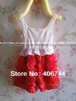 girls toddler flower party dress,baby rose dress,kids dress,bAB03
