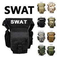 Outdoor swat multifunctional package tactical leg bag outdoor sports waist pack bag ride