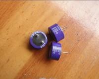 Original sanyo 's top solid capacitor purple 4v330uf 10 5 105