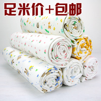 Super soft 100% cotton cloth knitted cloth cotton cloth fabric 100% cotton baby clothes cartoon bedding