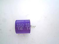 Sanyo solid capacitor 16v150uf 10 105