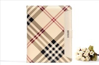 Original Brand  Pu Leather Flip Cover Case For Apple iPad 4/3/2 Free Shipping