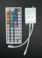 12v 44 key IR remote controller with lights, led lights rgb controller, smd5050/3528 rgb lights with controller, color dimmer