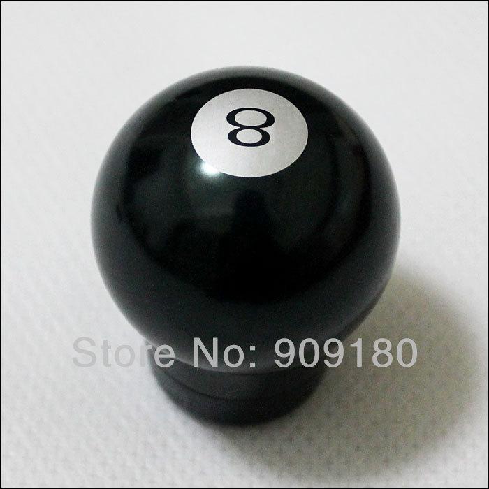 Universal Auto Car Black 8 Pool Ball MOMO Manual Gear Shift Knob New Cheap Free Shipping Wholesale gkb001(China (Mainland))