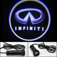Car LED door light Infiniti FX35 FX50 QX56 G37 Coupe G25 EX37 EX25 JX35 Shadow Light LOGO door prejection Free HK Post