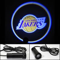 Car LED door light Lakers Shadow Light LOGO door prejection Free HK Post