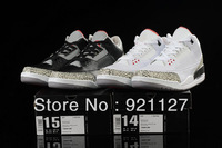 2 Colours Free Shipping JD Air Retro 3 III Men's Basketball Sport Footwear Sneaker Trainers Shoes Size 14 15 16 ( 1 - 2 Colours)