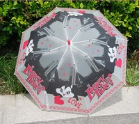 Children Thick EVA Transparent Umbrella Rain Free Shipping