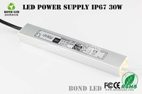 input 170V - 250V / out put 12V 30W waterproof led driver power supply