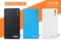 30000MAH Wallet Style Portable Dual USB Power Bank External Battery Charger for Apple iPhone iPad HTC Samsung Nokia Mobile Phone