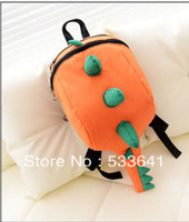 Wholesale Free shipping fashion  kids' travel bag dinosaur backpack school bag mochila snacks bags 3pcs/lot