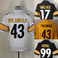 Free shipping  Embroidery logos,Steelers Men's Fan American Football Jerseys, Original quality size M-3XL Wholesale
