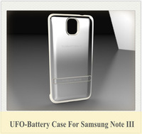 1pcs/lot Battery Case 4200mAh Extended Rechargeable Power Case For Samsung Galaxy Note III N900 N9005 without Flip Case