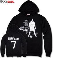 Real madrid memory c sweatshirt football outerwear ronaldo hero-Cristiano Ronaldo