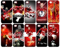 New arrival skin design Rooney white case hard back cover for iphone 4 4th 4s 10PCS/lot case+free shipping