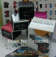 5pcs/lot Newest Original Hi-Rice portable Mini Speaker SD-502 TF&USB+FM+LED display+AUX+FM
