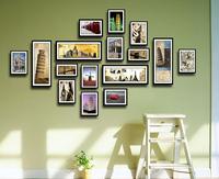 Photos of wall living photo frame customize combination box photo frame