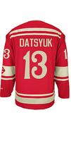 Free Shipping,Wholesale Ice Hockey Jersey, #13 Pavel Datsyuk 2014 Winter Classic Hockey jersey,Embroidery logos,size 48-56