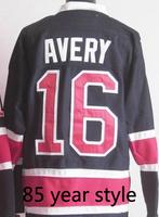 Free Shipping,Wholesale Ice Hockey Jersey, #16 Sean Avery Hockey jersey,Embroidery logos,size 48-56,mix order