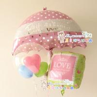 Anagram aluminum foil aluminum balloon umbrella wedding birthday