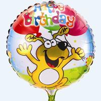 cartoon balloon aluminum balloon birthday party balloon
