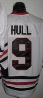 Free Shipping,Wholesale Ice Hockey Jersey,#9 Bobby Hull Hockey jersey,Embroidery logos,size 48-56,mix order