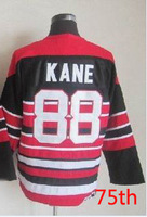 Free Shipping,Wholesale Ice Hockey Jersey, #88 Patrick Hockey jersey,Embroidery logos,size 48-56,mix order
