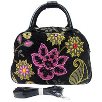 Elegant jasmine handmade beading handbag cross-body m8060-09p dual-use package  Freeshipping