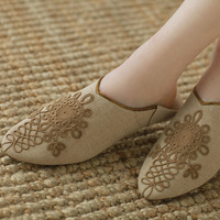 Fashion homes-up slip-resistant at home indoor shoes slippers comfortable