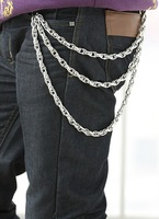 hiphop punk multi layer belly chain street fashion personality metal belly pants chain simple design