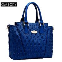 new tide women's shoulder bag leather handbag portable inclined shoulder bag. Free shipping